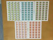 China Sc 1255-9 J8 16-1 To 16-5 5 Full Sheets Detailed Condition See Below