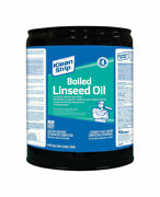 Klean Strip Transparent Clear Boiled Linseed Oil 5 Gal. - Case Of 1