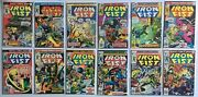 Iron Fist Lot 12 Books Total Bagged And Boarded Vg-vf