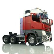 Rc Lesu Metal 66 1/14 Chassis Light Hercules Painted Actros Cabin Tractor Truck