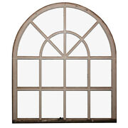 Reclaimed Antique Arched Windows, C. 1910, 3 Windows Available, Nw49
