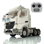Rc Lesu Metal 1/14 Chassis 66 Radio Hercules Actros Cabin Tractor Truck Sound