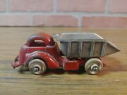 Vintage 1930and039s Cast Iron Hubley Dump Truck 2308