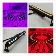 4pc Outdoor 14led 18w Rgbw Uv Wall Wash Bar Light Dmx512 Ip65 Stage Washer Pixel