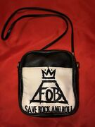 Fall Out Boy Save Rock And Roll Purse Bag Fob Pete Wentz Stump Hurley Trohman