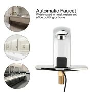 G1/2in Automatic Sensor Faucet Handfree Non-contact Bathroom Kitchen Water Tap