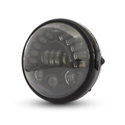 Motorcycle 7.7 Projector Led Daymaker Headlight Indicators Chopper Cafe Racer