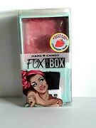 Hard Candy Fox In A Box Marbleized Baked Blush Girl Next Door- Blush And Brush Set