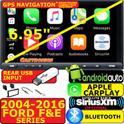04-16 Ford F And E Series Carplay Android Auto Bluetooth Car Stereo Opt. Siriusxm
