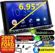05-15 Ford F250/350/450/550 Carplay Android Auto Bluetooth Opt. Xm Car Stereo