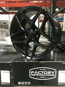 Fits 20 9 And 10 Camaro Z28 Satin Black Nitto Tire Wheel Package 5th Gen 10 - 15