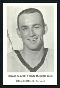 1966 Oshawa Green Gaels Lacrosse Neil Armstrong Minto Cup National Champion Card