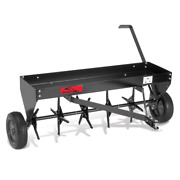 Brinly-hardy 40 In. Tow Behind Plug Aerator With Weight Tray And Universal Hitch