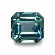 Natural Heated Teal Green-blue Sapphire 1.62 Carats