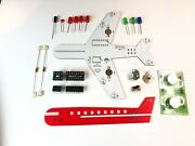 Led Flashing Airplane Diy Electronic Kit Learn To Solder Pcb Board. Home Project