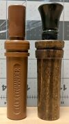 Two 2x Duck Commanderandnbspdynasty Calls -- One Plastic And One Wooden