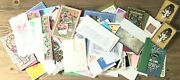 Vintage Lot Of 140+ Christmas Greeting Cards Unused Most W/ Envelopes 50s-80s