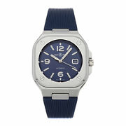 Bell And Ross Br 05 Blue Steel Steel Auto 40mm Mens Watch Br05a-blu-st/srb