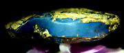 Dominican Amber Stone Blue Natural Authentic Caribbean Rock Rough 96.4g 1446
