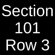 2 Tickets Tyler The Creator 3/31/22 Staples Center Los Angeles Ca