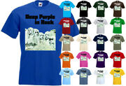 Deep Purple In Rock T-shirt Hard Rock Band All Colors All Sizes S-5xl