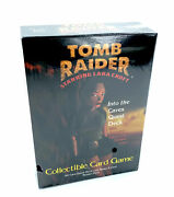 Tomb Raider Collectible Card Game Into The Caves Quest Deck Tcg Lara Croft