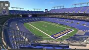 Baltimore Ravens Seasons Tickets 2021 3 Seats Isle Low Row Ul All 9 Home Games