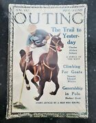 The Outing Magazine 1913 June The Trail To Yester-day Antique Vintage