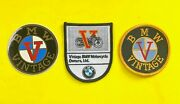 Bmw Motorcycle Airhead Collectible Nos Vintage Owners Patches,sticker Rare Look