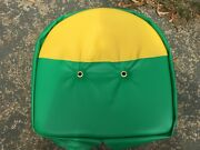 New Antique Tractor Green And Yellow Seat Cushion Fits John Deere A B G H