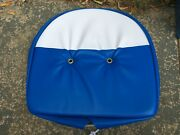 New Antique Tractor Blue And White Seat Cushion Fits Ford 2000 3000 4000