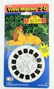 Viewmaster 3-d The Lion King Set Of 3 Reels