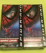 """Spiderman Spider-man Mary Jane 12"""" Collectable Doll Action Figure Toy Biz"""
