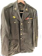 Wwii Army Air Corp Dress Coat Jacket Wool