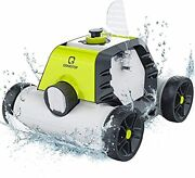 Swimming Pool Cleaner Cordless Robotic Automatic Rechargeable Vacuum 90 Mins