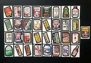 Wacky Packages 1974 Series 7 Complete Set Nmmt Beautiful Set