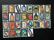 Wacky Packages 1974 Series 10 Complete Set Nmmt Beautiful Set