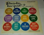 Remember How Great Volume 2 Collectors Series Vinyl Lp 1962 Tested