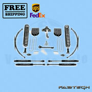 8 Basic System W/ Stealth Shocks Fabtech For Ford F250 4wd 2008-16
