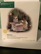 """Dept 56 Lighted Christmas Ornament Steeple Church"""" 98757 - Discontinued"""