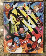 Marvel Made Skottie Young Display Box 1988 Of 2500 Custom No Pins Or Books