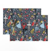 Cloth Placemats Dancing Nutcracker Holiday Ballet Christmas Music Set Of 2