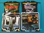 Toybiz Resident Evil/2 Complete Set Of Card Backs. 5 Re And 7 Re2. See Pics