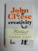 John Cleese Signed Book Creativity 1st Edition Hardcover Monty Python Actor