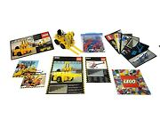 Vintage Lego Technic Forklift 850 And Lego Technic Helicopter 8844 Building Sets