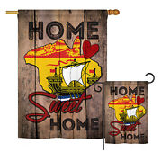 Canada New Brunswick Home Sweet-flags Of The World Garden Yard Banner House Flag