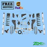 Suspension Lift Kit Zone 8 F And R For Dodge Ram 2500 4wd Diesel 2003-2007