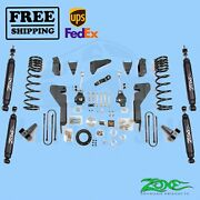 Suspension Lift Kit Zone 8 Front And Rear For Dodge Ram 2500 4wd Diesel 2008
