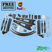 Radius Arm Suspension Lift Kit Zone 6 Front And Rear Fits Ford F250 4wd 2011-16