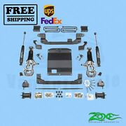 Suspension Lift Kit Zone 5.5 Front And Rear For Gmc Canyon 2wd/4wd Gas 2015-2019